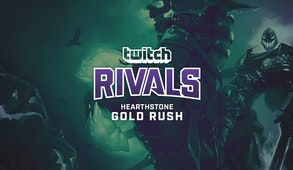 Twitch Rivals: The Hearthstone Gold Rush Challenge